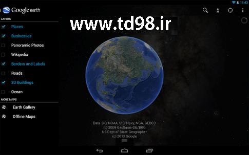 دانلود Google Earth 8.0.1.2311 – برنامه گوگل ارث برای اندروید