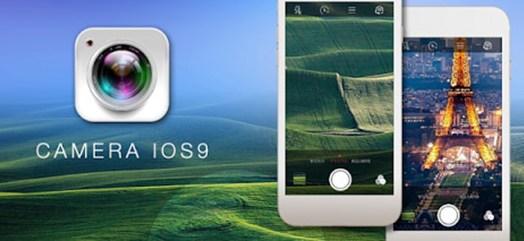 برنامه عکاسی iCamera – iOS 9.2 camera style
