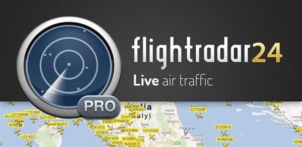 دانلود رایگان نرم افزار نمایش اطلاعات پروازی و هواپیما ها Flightradar24 Pro Premium v7.5.0
